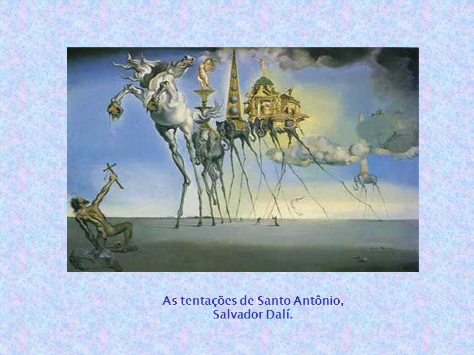 As tentações de Santo Antônio, Salvador Dalí.