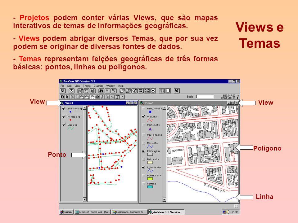Campos Registros Interface Tabelas Introduzindo Tabelas Documento para exibir informações tabulares Formatado em registros (linhas) e campos (colunas)