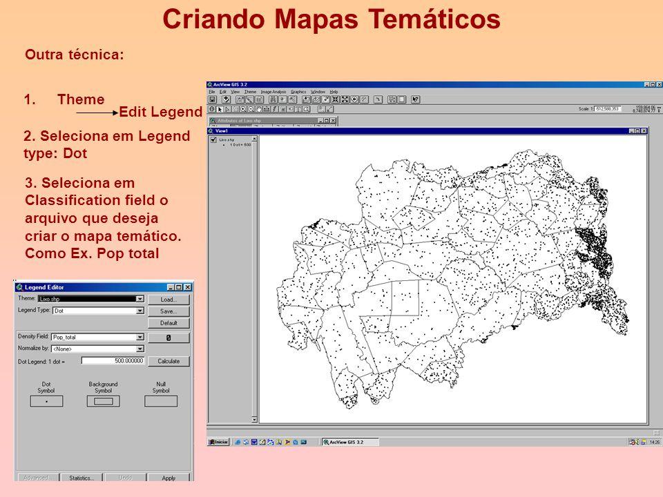 5. Mapa Temático gerado: