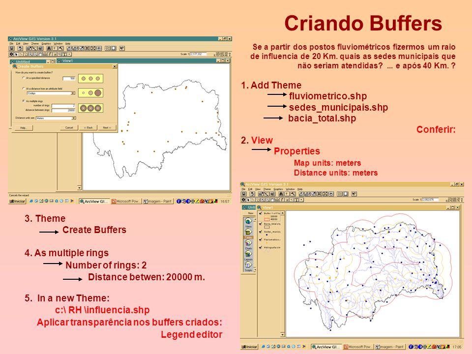 4 Escalas de Medição 3) GIS: identificar e classificar é a força da pesquisa. 4) GIS: localização, extensão e correlação das informações. Evolução no