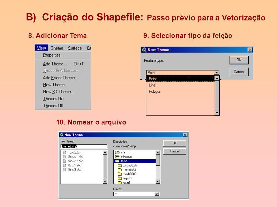 6. Para registrar imagem usa-se o ícone Align Tool para entrar com a coordenada correspondente ao ponto selecionado 8. Salvar Imagem