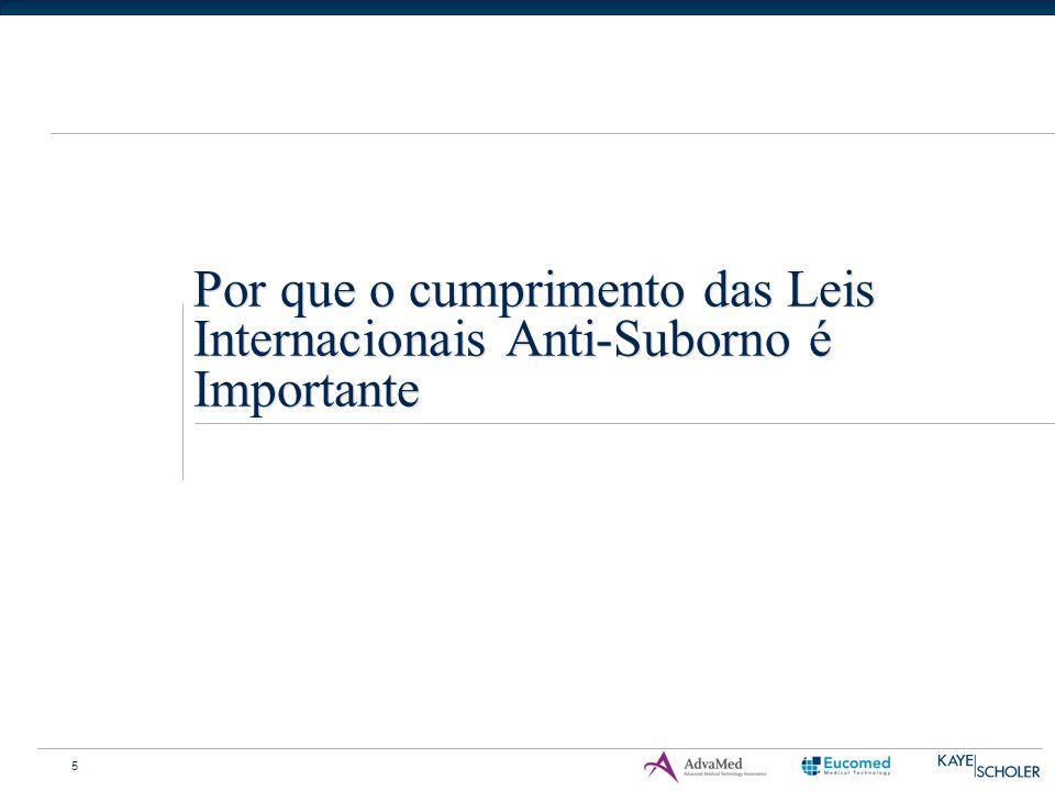 5 Por que o cumprimento das Leis Internacionais Anti-Suborno é Importante