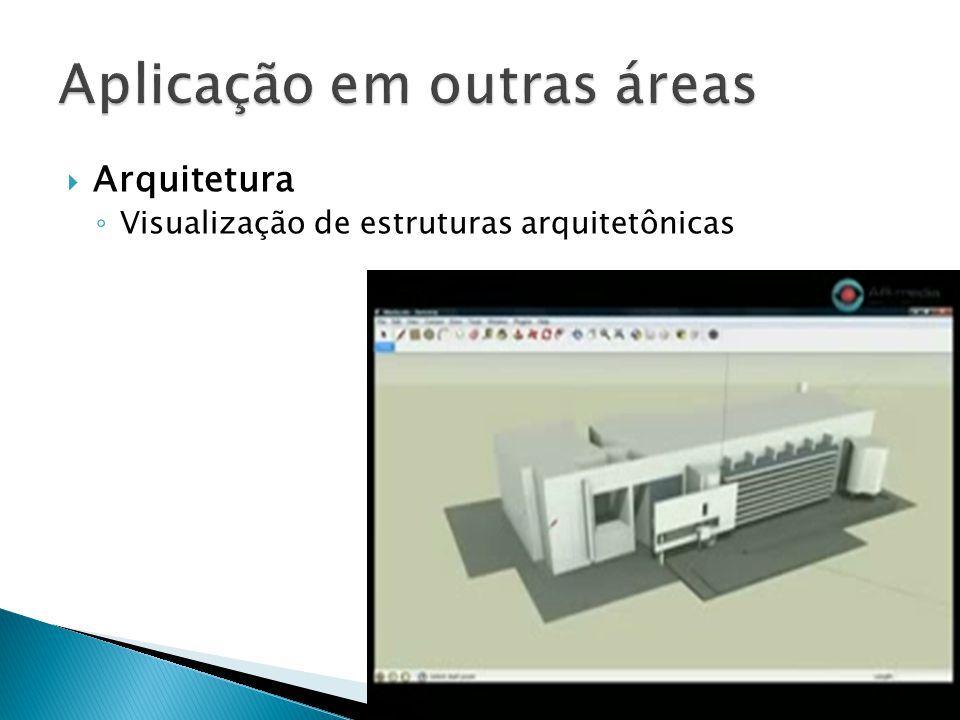  Arquitetura ◦ Visualização de estruturas arquitetônicas