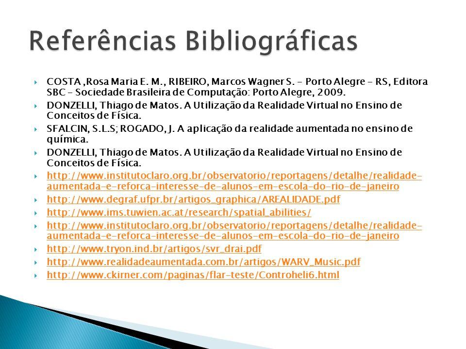  COSTA,Rosa Maria E. M., RIBEIRO, Marcos Wagner S.