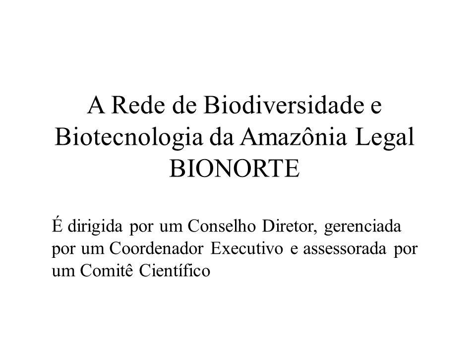 Objetivo: Integrar competências para o desenvolvimento de projetos de pesquisa, desenvolvimento e inovação e formação de doutores, com foco na biodiversidade e biotecnologia, visando gerar conhecimentos, processos e produtos que contribuam para o desenvolvimento sustentável da Amazônia Legal.