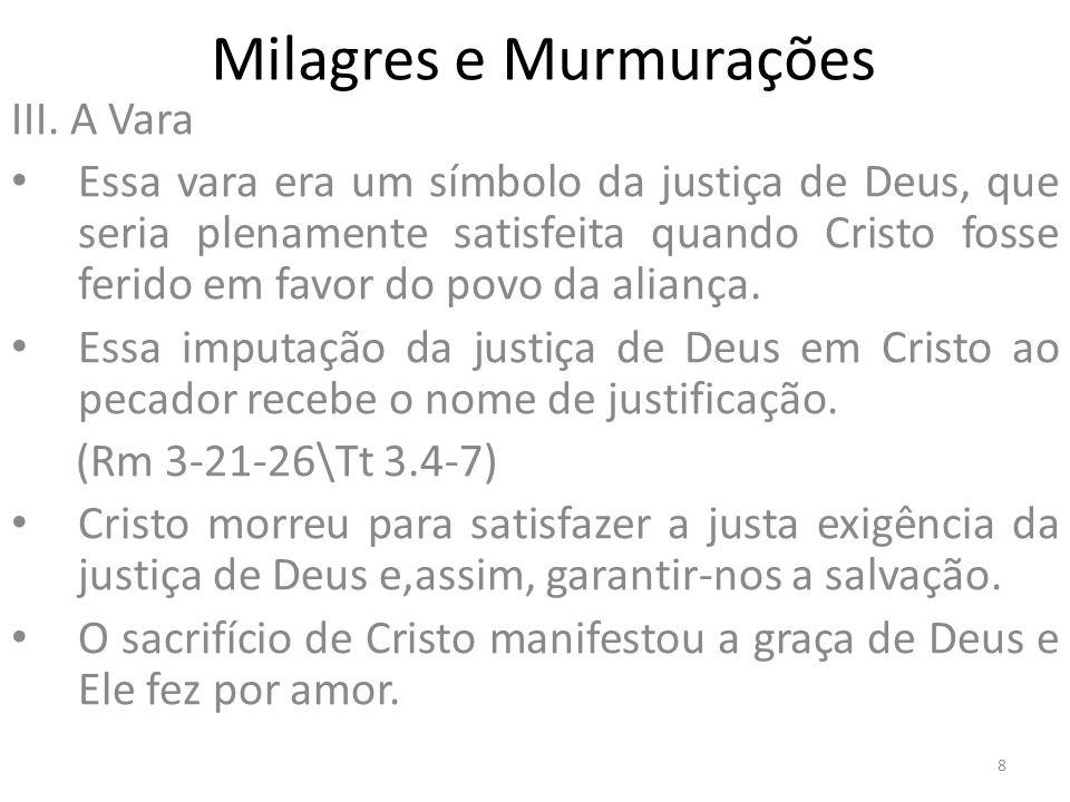 Milagres e Murmurações IV.