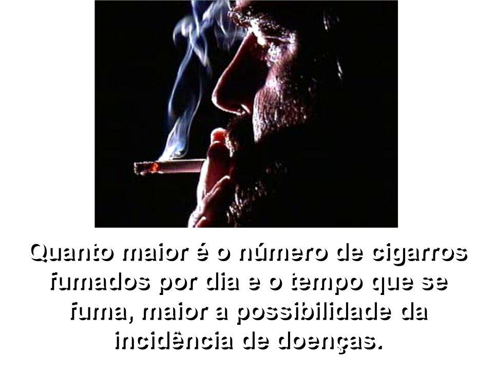 Estudos colocam o cigarro como fator causal de pelo menos 25 doenças.