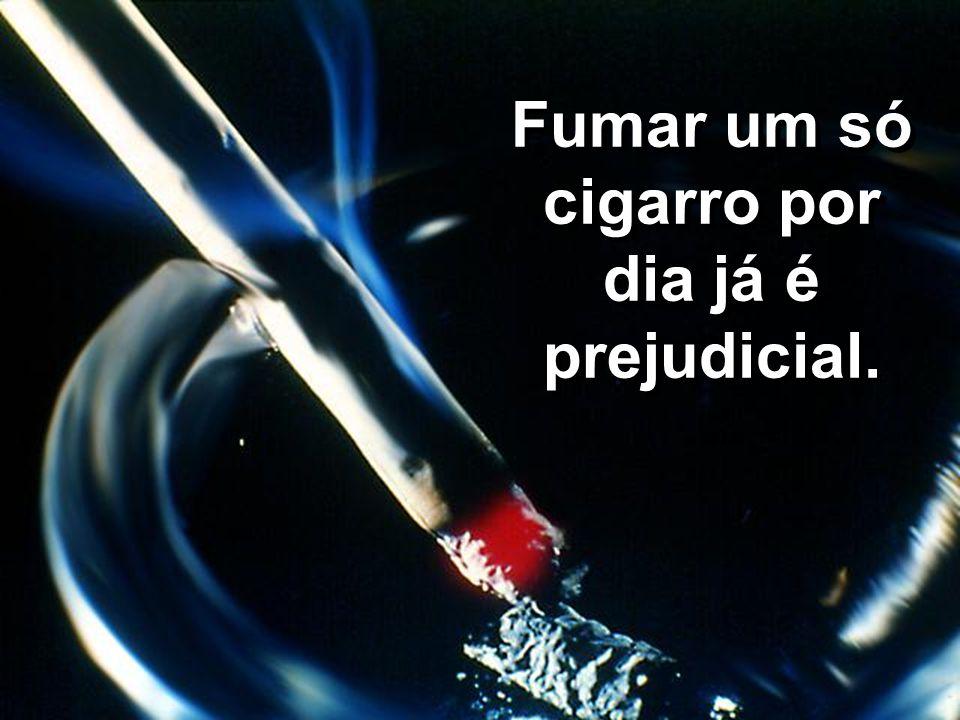 Quanto maior é o número de cigarros fumados por dia e o tempo que se fuma, maior a possibilidade da incidência de doenças.