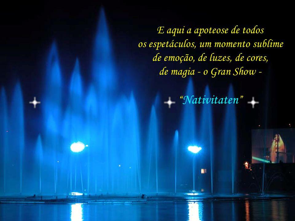 Lago Joaquina Rita Bier, palco do espetáculo mais emocionante já visto por essas terras – Nativitaten