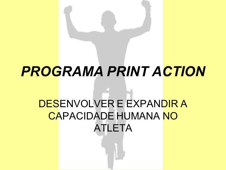 PROGRAMA PRINT ACTION DESENVOLVER E EXPANDIR A CAPACIDADE HUMANA NO ATLETA