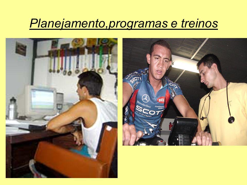 Planejamento,programas e treinos