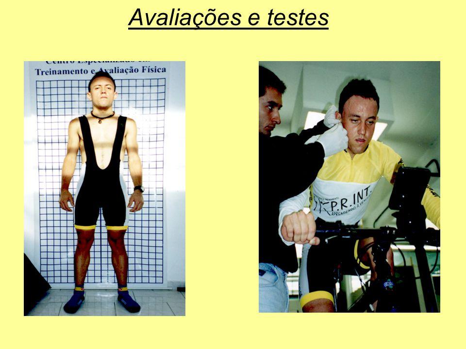 Avaliações e testes
