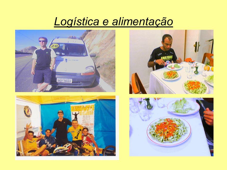 Logística e alimentação