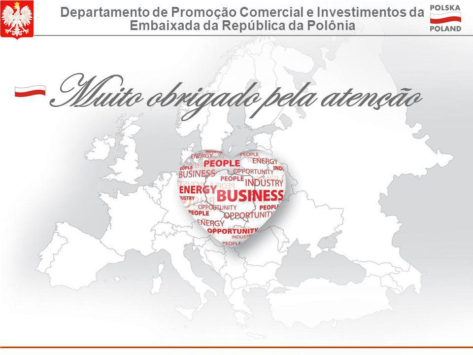 Convidamos vocês para visitar os nossos sites www.saopaulo.trade.gov.pl www.polishproducts.gov.pl www.paiz.gov.pl Departamento de Promoção Comercial e