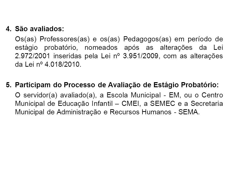 COMISSÃO PERMANENTE DE AVALIAÇÃO DO ESTÁGIO PROBATÓRIO – CPAEP – E-mail: cpaep2010@hotmail.comcpaep2010@hotmail.com Fone: 86 3215-7947 Ramal: 106