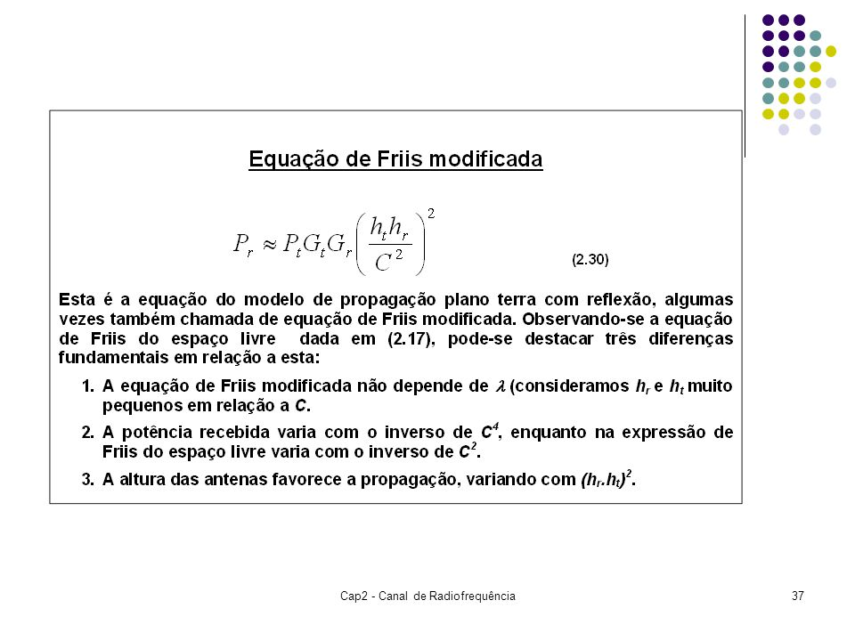 Cap2 - Canal de Radiofrequência37