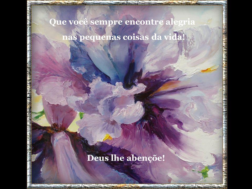 Pois só assim, espalharemos pelos quatro cantos, que a vida é bela e merece ser vivida!