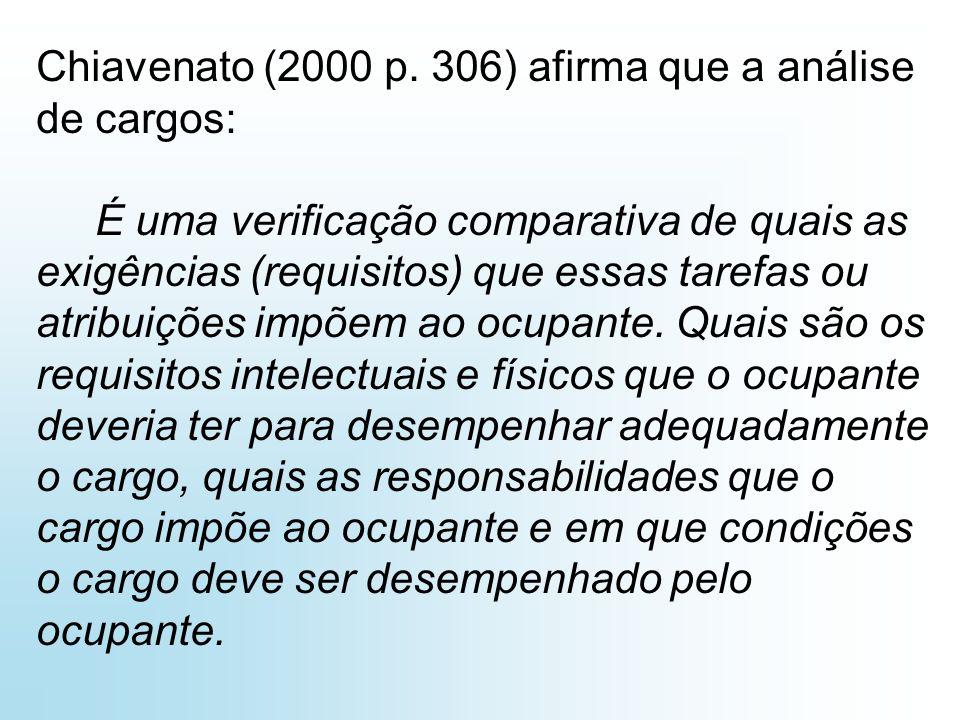 Chiavenato (2000 p.