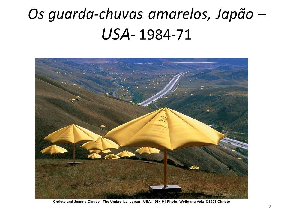 Os guarda-chuvas amarelos, Japão – USA - 1984-71 9