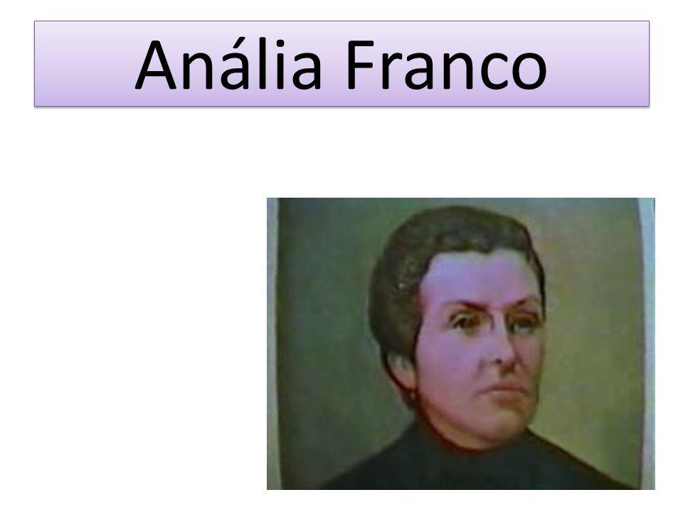 Em 1˚ de fevereiro de 1853 em Resende no estado do Rio de Janeiro, casou-se com Francisco Antônio Bastos, seu nome passou a ser Anália Franco Bastos