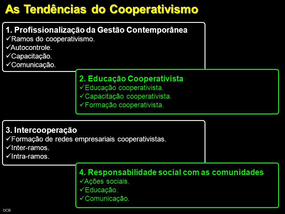 As Tendências do Cooperativismo OCB 1.