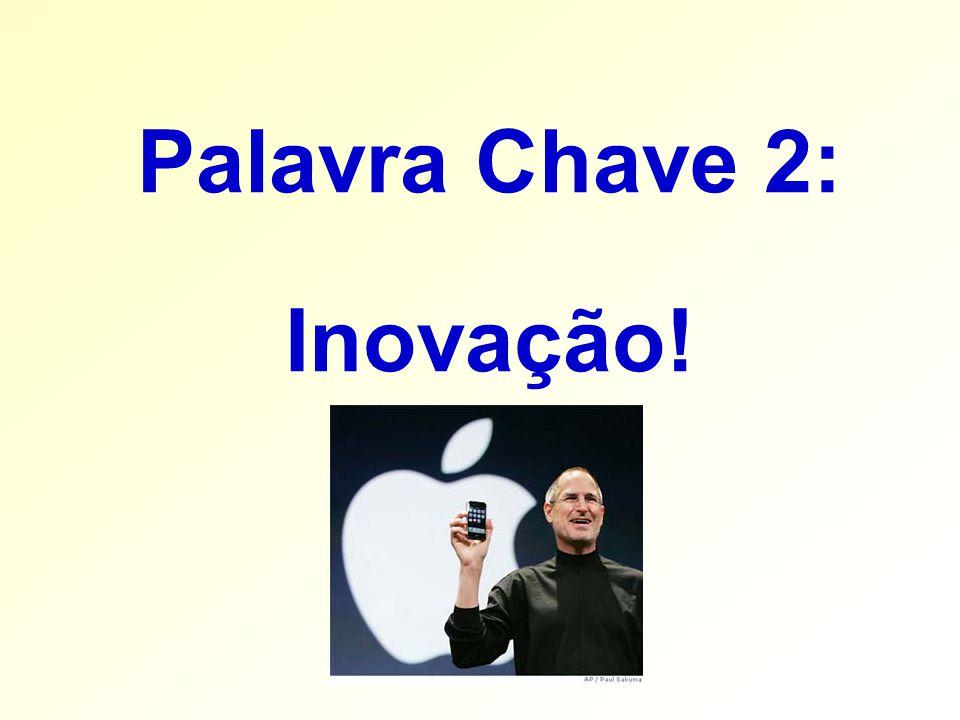 Palavra Chave 2: Inovação!