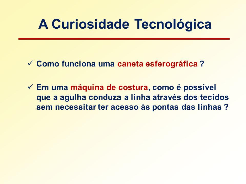 A Curiosidade Tecnológica Como funciona uma caneta esferográfica .