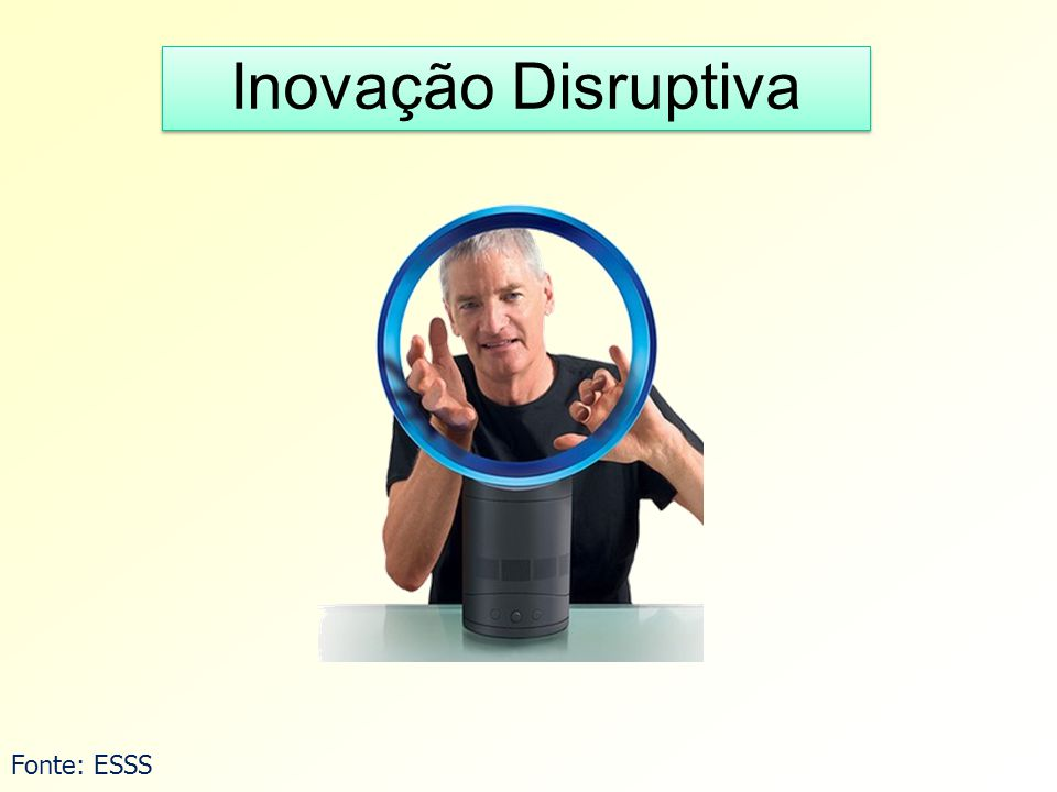 Inovação Disruptiva Fonte: ESSS