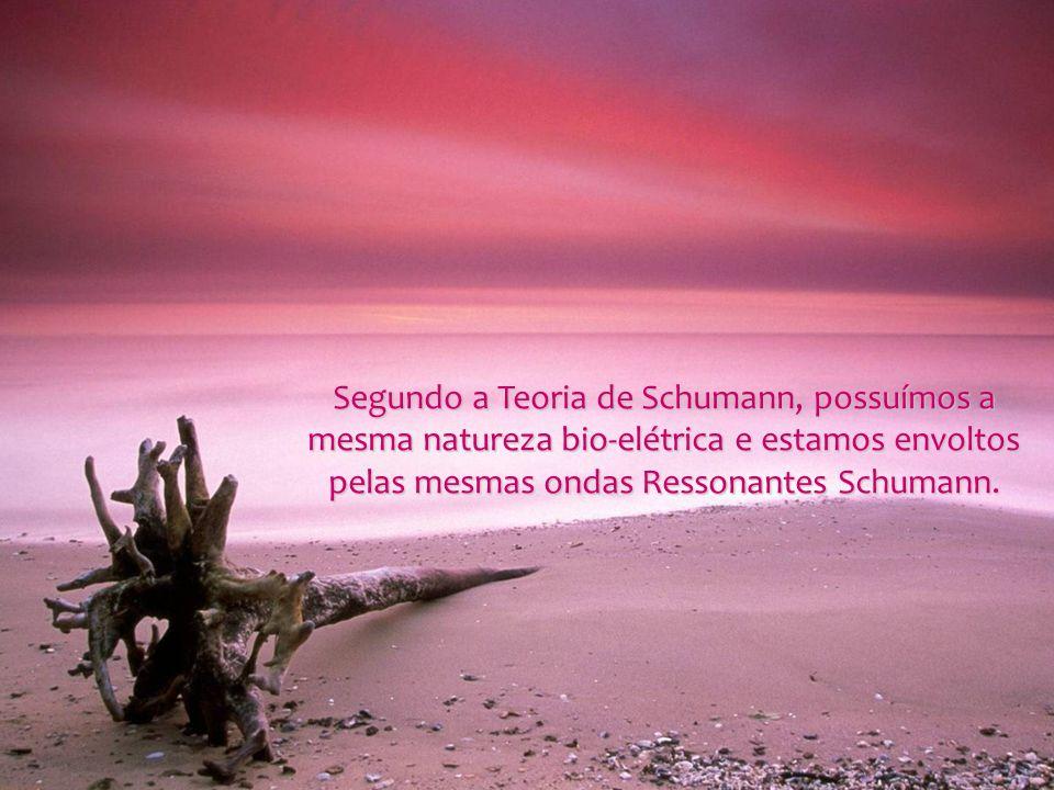 Segundo a Teoria de Schumann, possuímos a mesma natureza bio-elétrica e estamos envoltos pelas mesmas ondas Ressonantes Schumann.