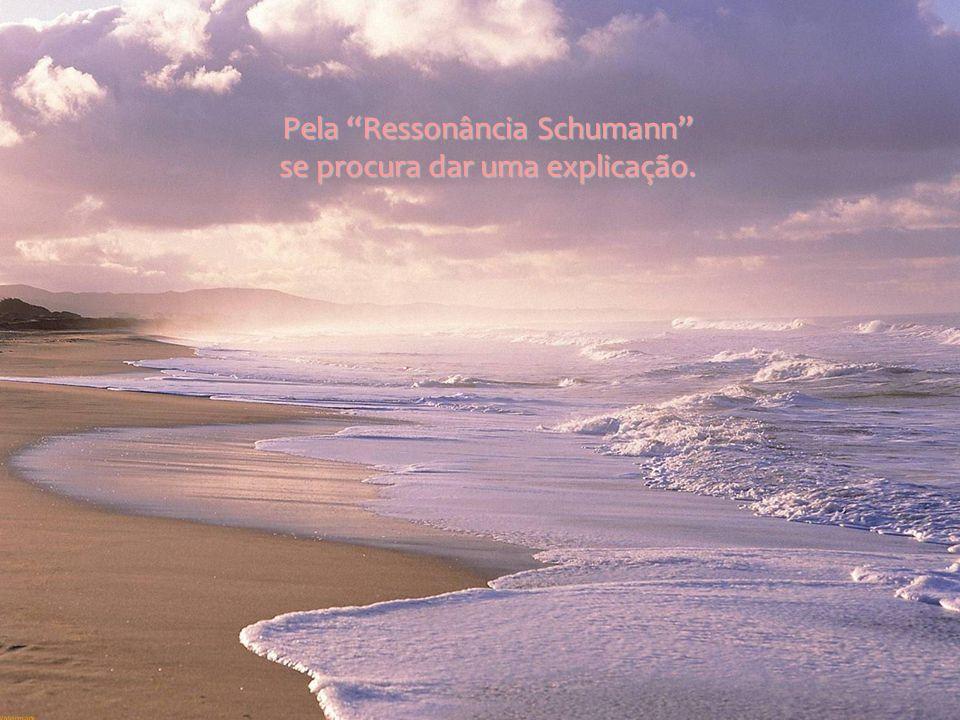 Pela Ressonância Schumann se procura dar uma explicação.