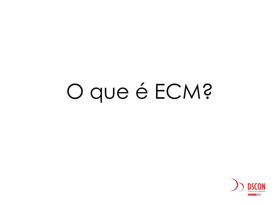 O que é ECM?