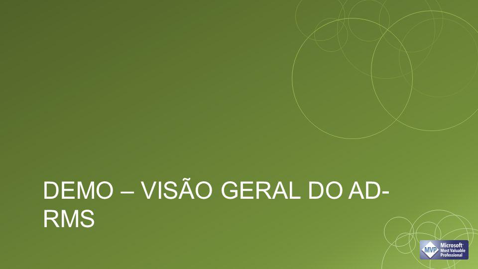 DEMO – VISÃO GERAL DO AD- RMS
