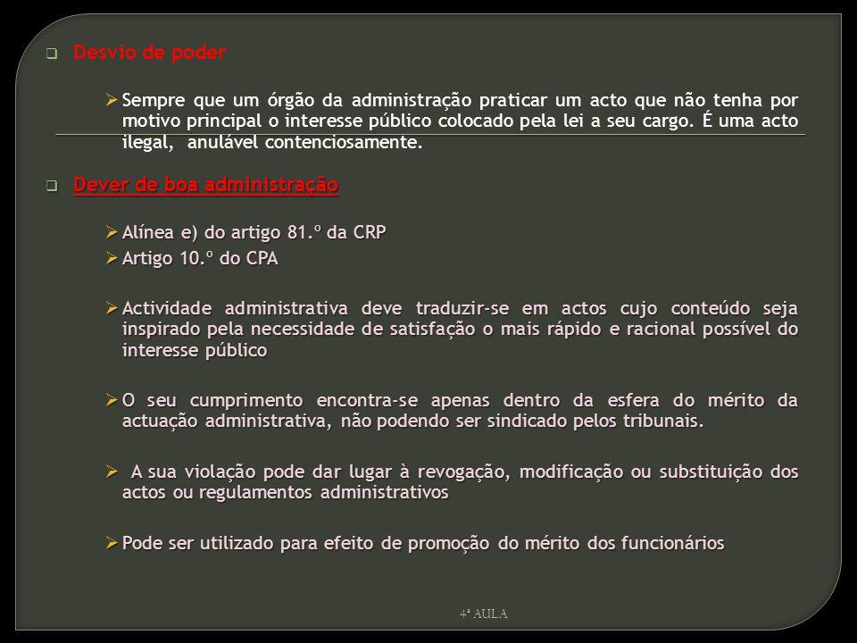  N.º 1 do artigo 266.º da CRP,  Respeito pelos direitos dos particulares  Princípio da legalidade (art.