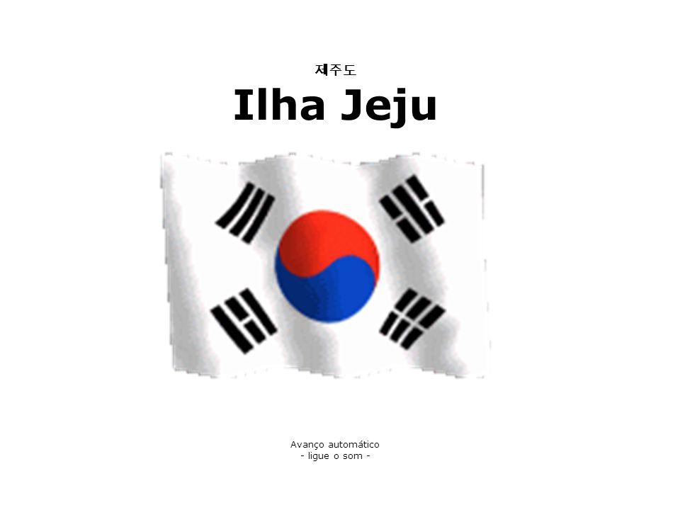 제주도 Ilha Jeju Avanço automático - ligue o som -