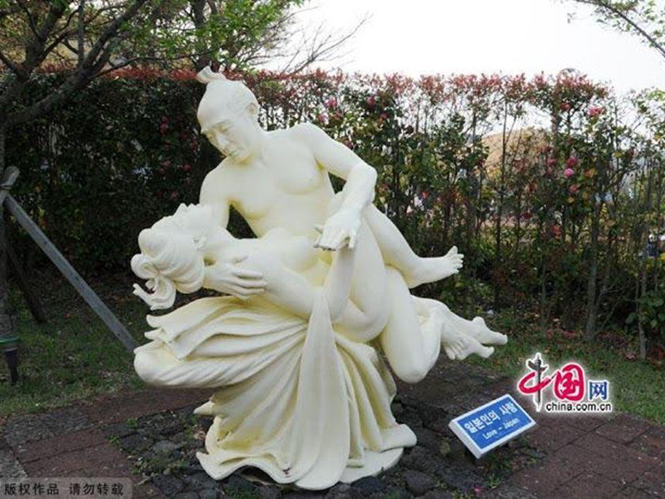 Parque do Erotismo - 140 esculturas eróticas