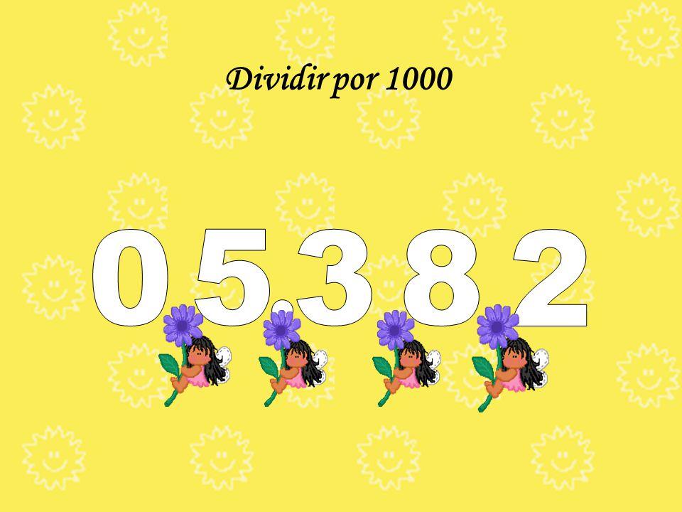 Multiplicar por 1000