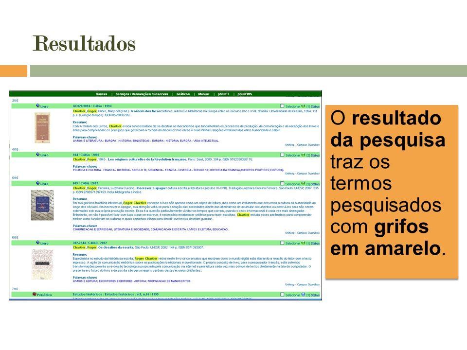 Todas as palavras Os resultados localizam itens que contenham todos os termos fornecidos em qualquer campo: título, autor, resumo, etc.