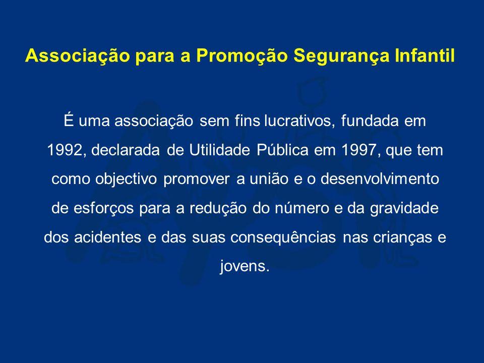 Associação para a Promoção da Segurança Infantil FORMAÇÃO para Segurança Rodoviária Infantil Dezembro 2004Sandra Nascimento www.apsi.org.pt