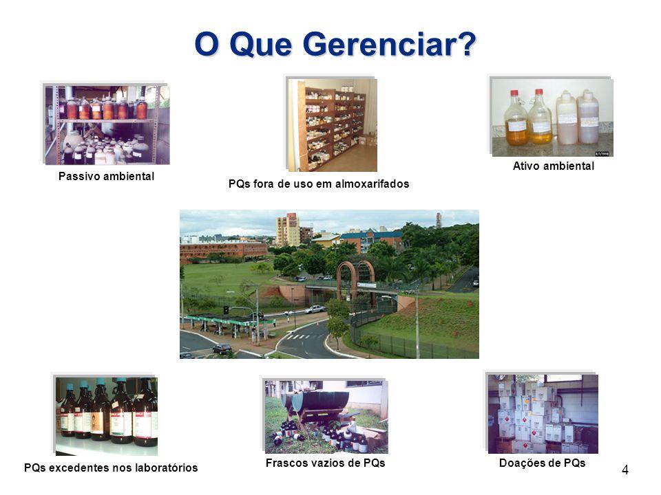 Como Gerenciar.Providenciando o Transporte dos Resíduos Químicos 25 BRASIL.