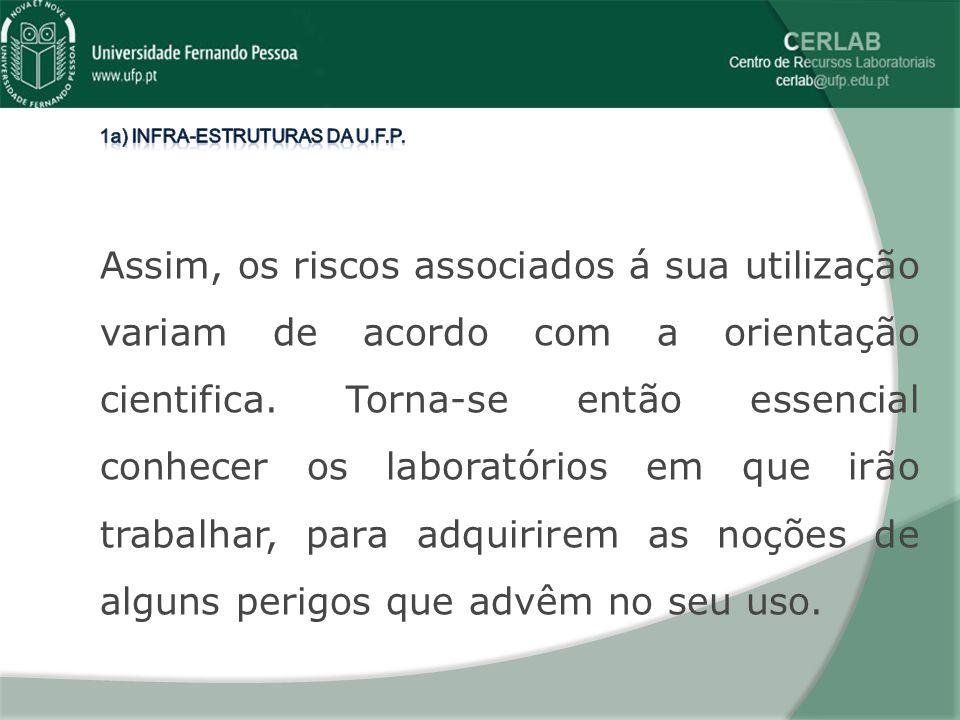 LABORATÓRIO DE BIOQUÍMICA Neste laboratório é leccionada a disciplina de Bioquímica Fisiológica, comum a todos os cursos.