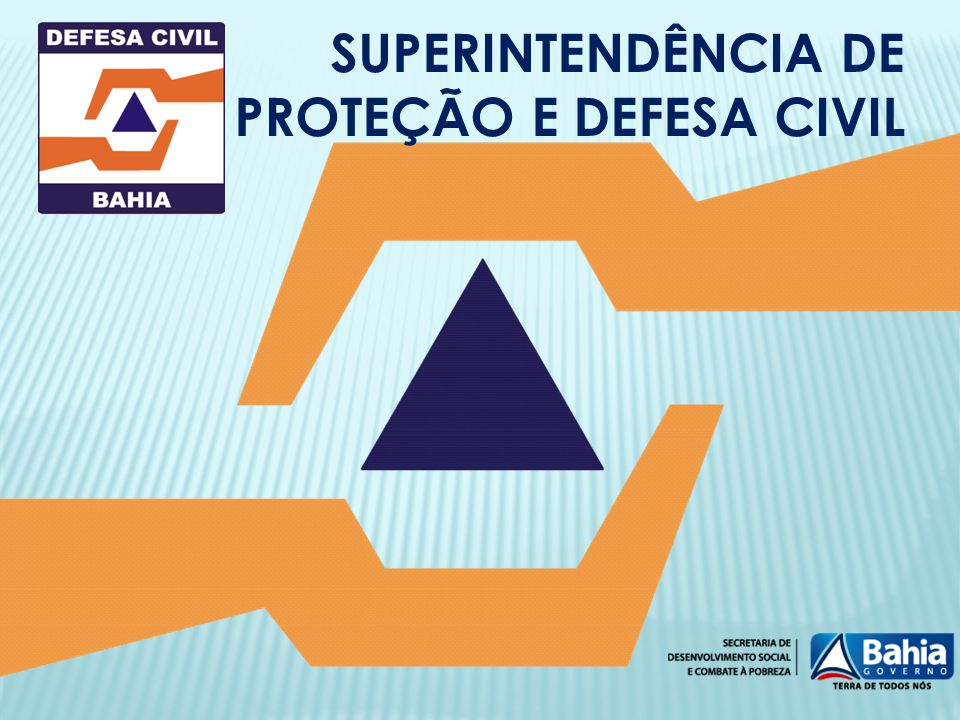 SUPERINTENDÊNCIA DE PROTEÇÃO E DEFESA CIVIL
