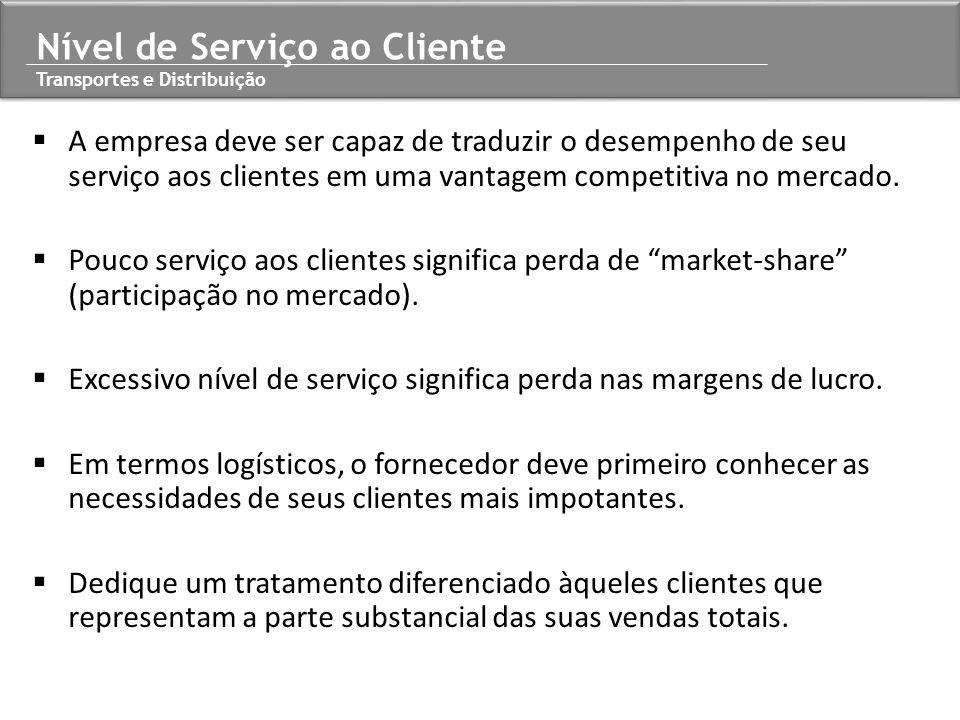 A empresa deve ser capaz de traduzir o desempenho de seu serviço aos clientes em uma vantagem competitiva no mercado.  Pouco serviço aos clientes s