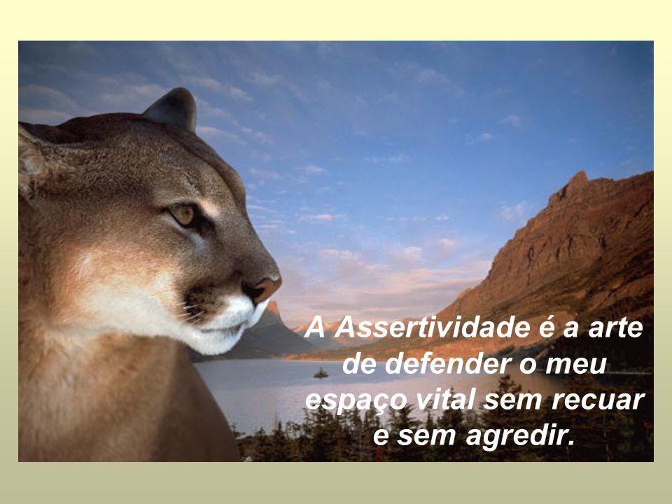 Ser assertivo é ser pacífico sem ser passivo.