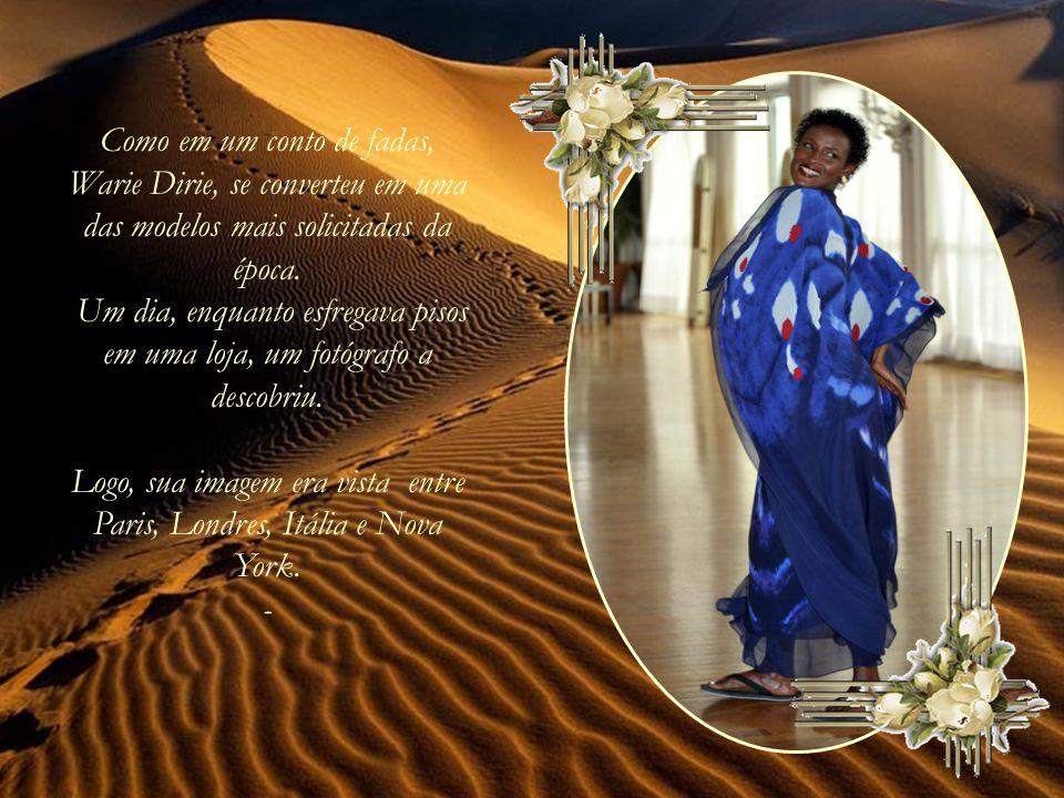 Waris Dirie se reencontrou com sua família, depois de 22 anos.