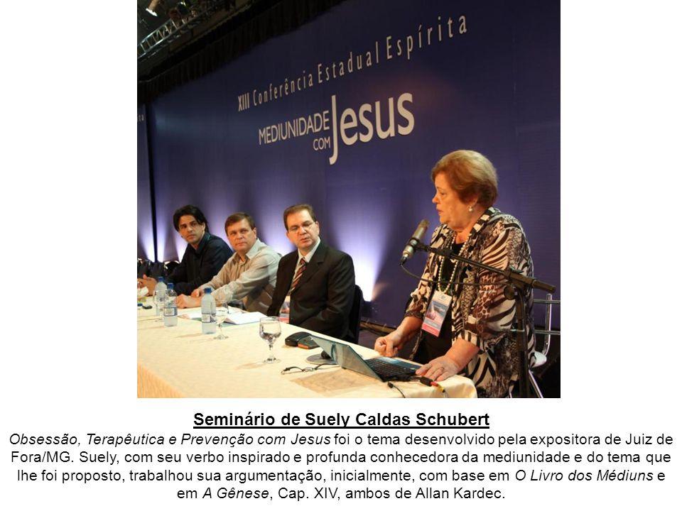 Atividades do dia 19 de março de 2011 A XIII Conferência Estadual Espírita, promovida pela Federação Espírita do Paraná, com o título Mediunidade com Jesus, foi realizada nos dias 18, 19 e 20 de março de 2011, nas dependências da Expotrade, localizada em Pinhais, região metropolitana de Curitiba/PR.