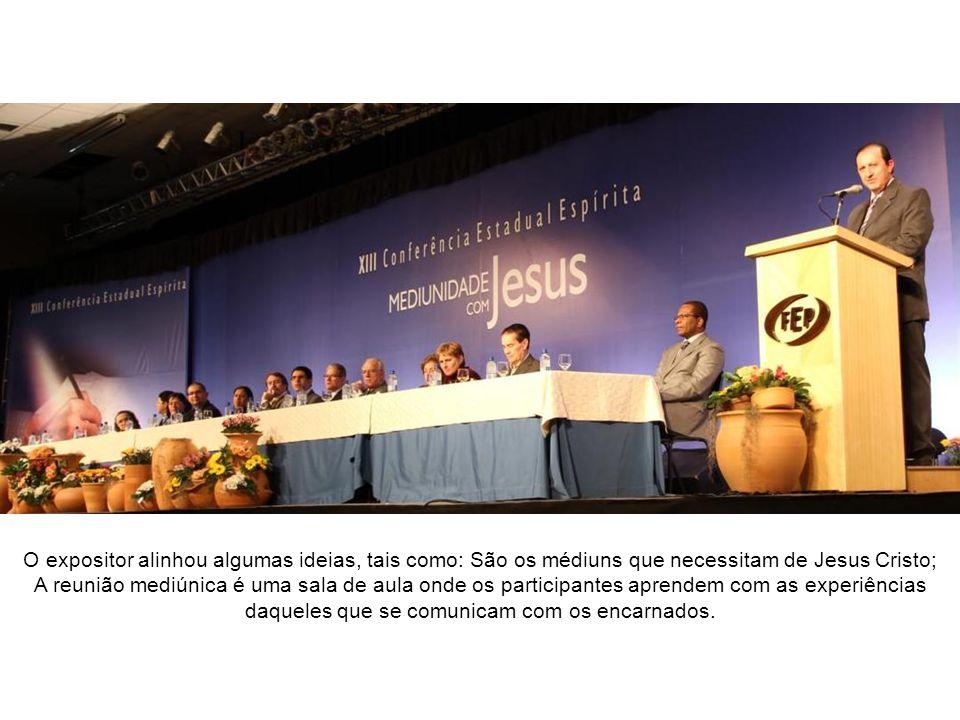 Conferência de José Raul Teixeira Espiritismo e Mediunidade foi o tema desenvolvido pelo conferencista de Niterói/RJ, Professor José Raul Teixeira.
