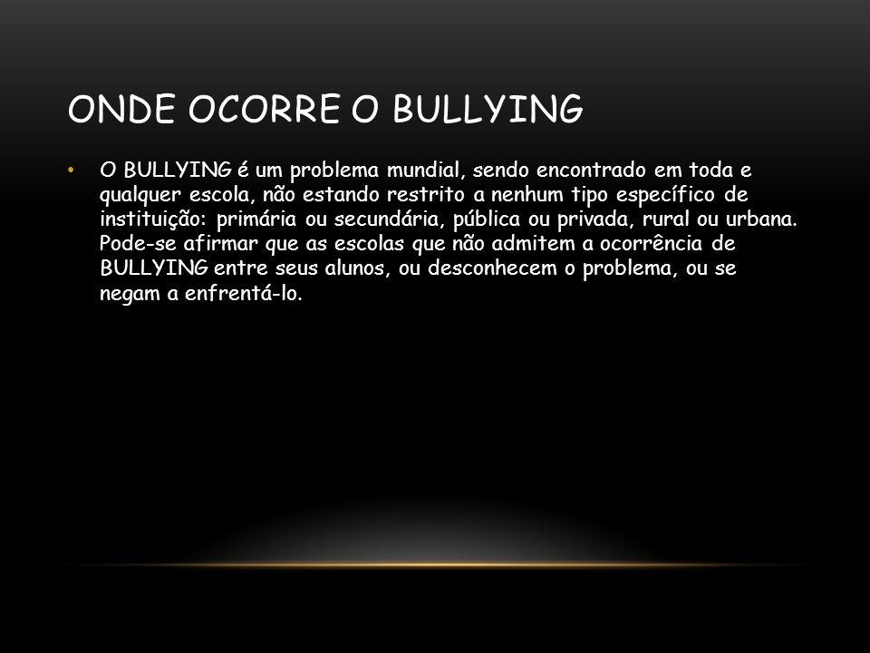 O QUE É E O QUE SIGNIFICA BULLY Bully em português significa brigão, valentão e mandão.