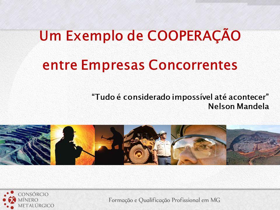 """Um Exemplo de COOPERAÇÃO entre Empresas Concorrentes """"Tudo é considerado impossível até acontecer"""" Nelson Mandela"""