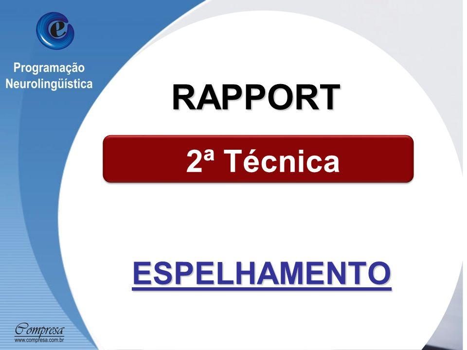 ESPELHAMENTO 2ª Técnica RAPPORT