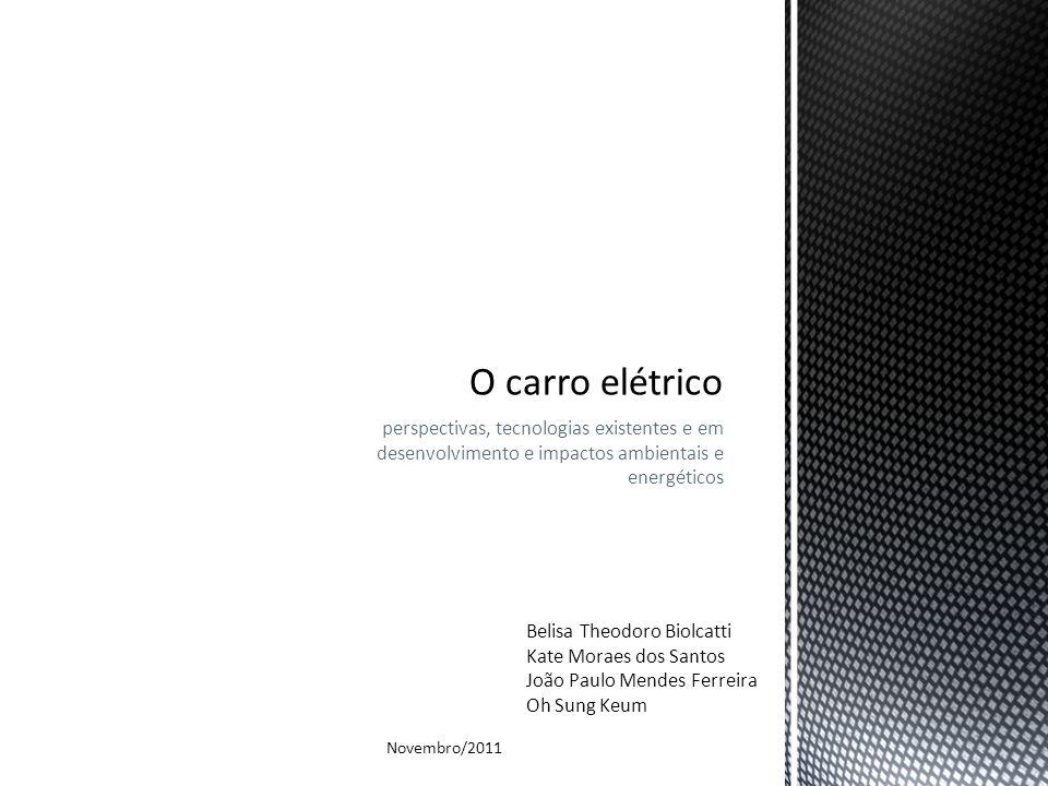 perspectivas, tecnologias existentes e em desenvolvimento e impactos ambientais e energéticos Belisa Theodoro Biolcatti Kate Moraes dos Santos João Pa